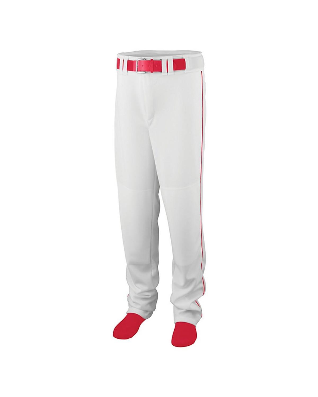1445 Augusta Sportswear WHITE/ RED