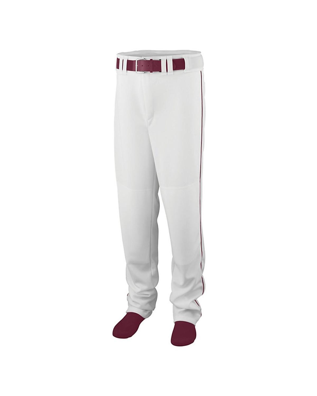 1445 Augusta Sportswear WHITE/ MAROON