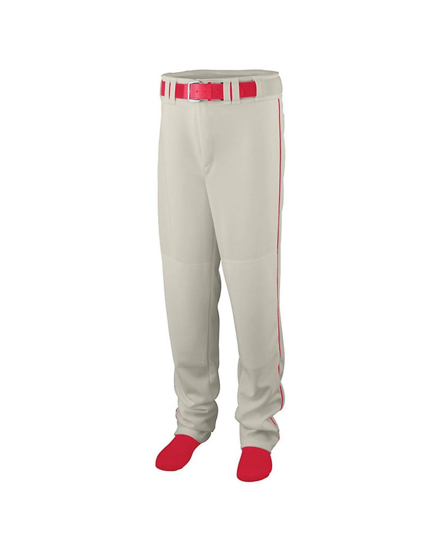 1445 Augusta Sportswear Silver Grey/ Red