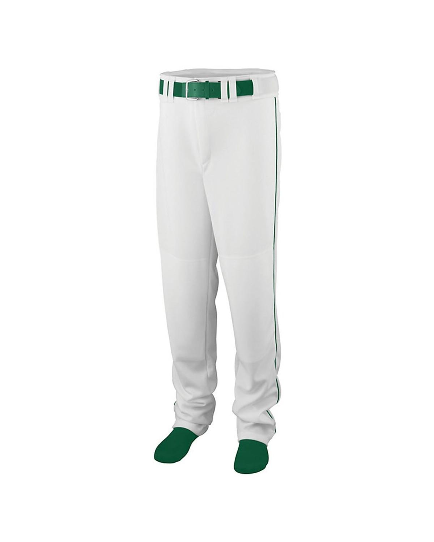 1446 Augusta Sportswear White/ Dark Green