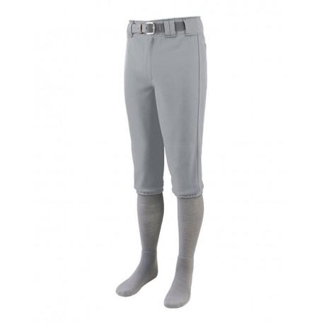 1452 Augusta Sportswear 1452 Series Knee Length Baseball Pants SILVER GREY