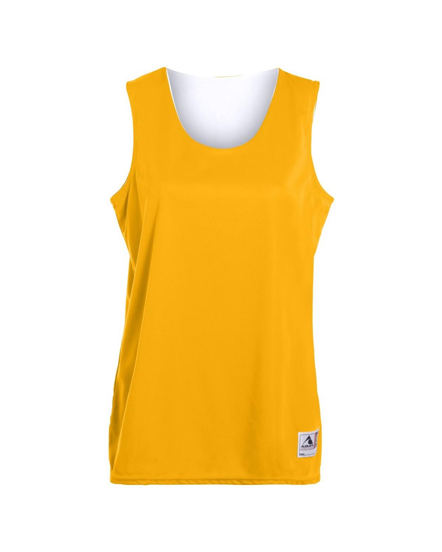 147 Augusta Sportswear GOLD/ WHITE