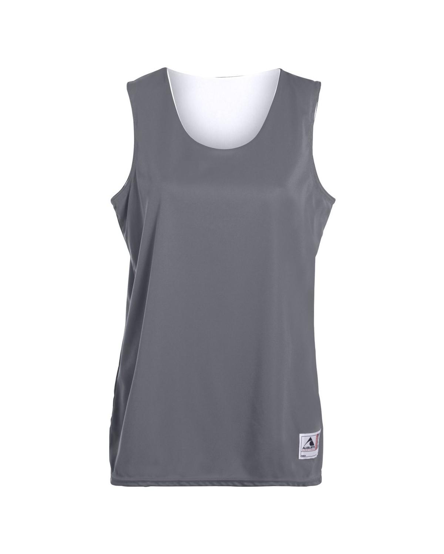 147 Augusta Sportswear GRAPHITE/ WHITE