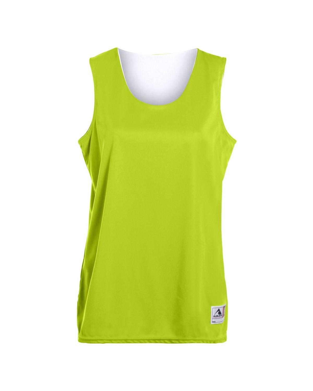 147 Augusta Sportswear LIME/ WHITE