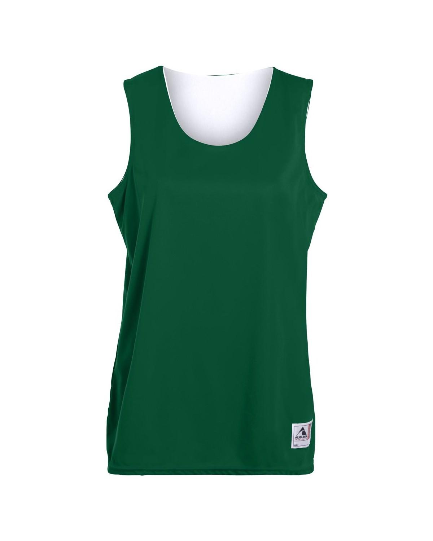 147 Augusta Sportswear Dark Green/ White