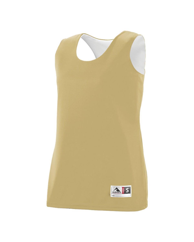 147 Augusta Sportswear Vegas Gold/ White