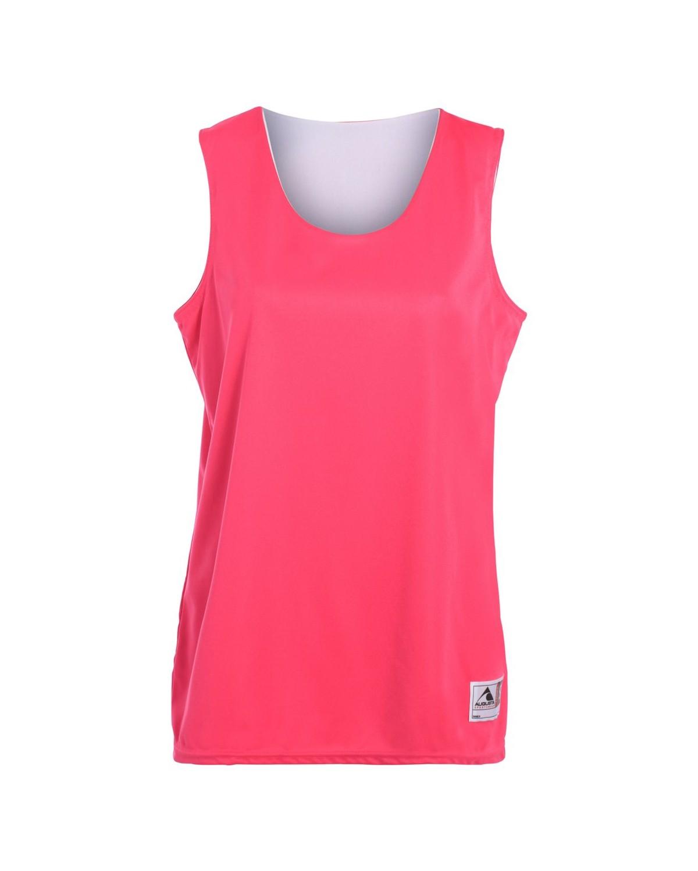 147 Augusta Sportswear Power Pink/ White
