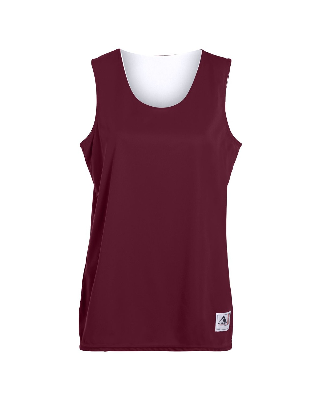 147 Augusta Sportswear MAROON/ WHITE