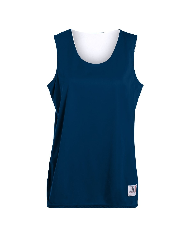 147 Augusta Sportswear NAVY/ WHITE