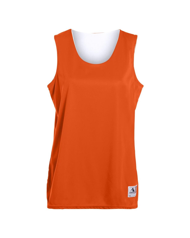 147 Augusta Sportswear ORANGE/ WHITE
