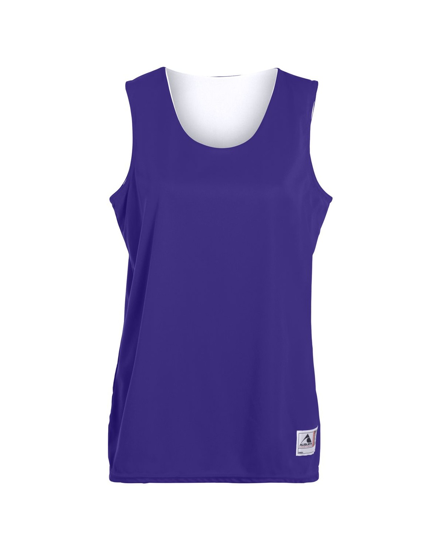 147 Augusta Sportswear PURPLE/ WHITE