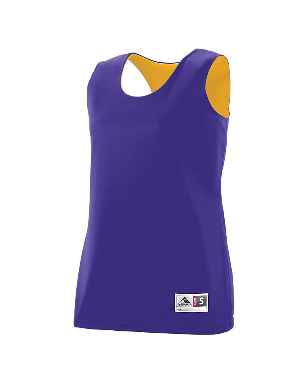 147 Augusta Sportswear Purple/ Gold