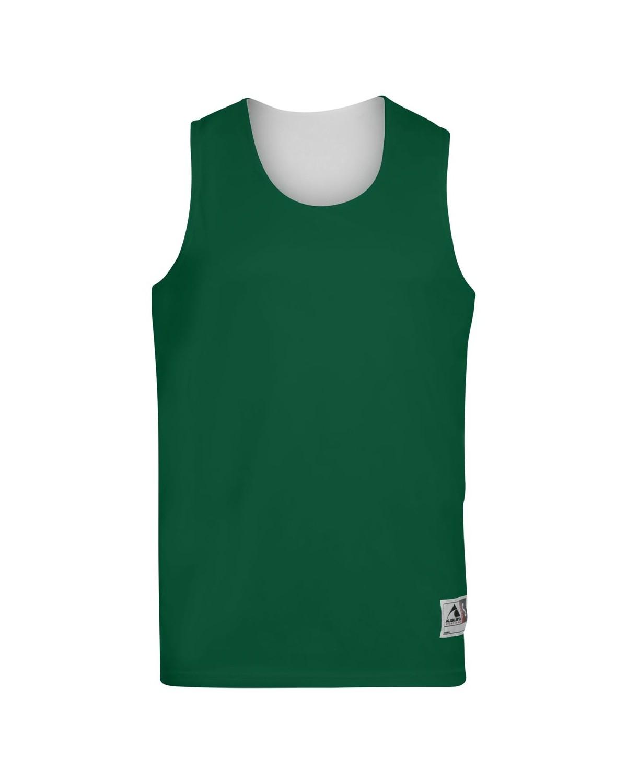 148 Augusta Sportswear Dark Green/ White
