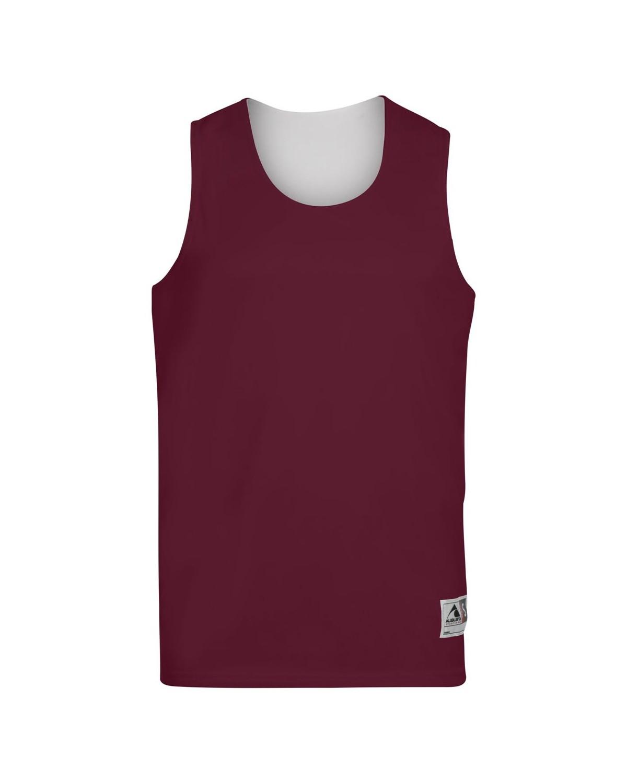 148 Augusta Sportswear MAROON/ WHITE