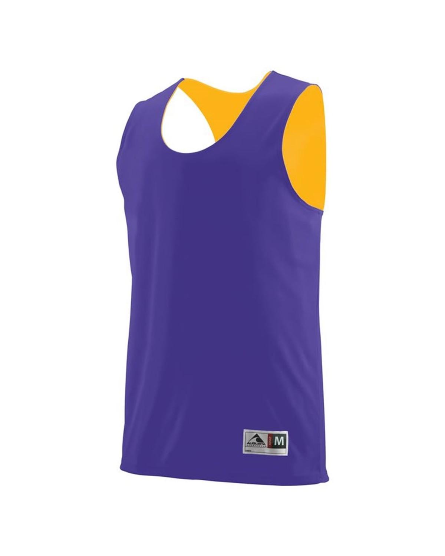 148 Augusta Sportswear Purple/ Gold