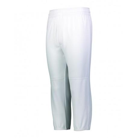 1487 Augusta Sportswear 1487 Pull-Up Baseball Pants WHITE