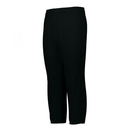 1488 Augusta Sportswear 1488 Youth Pull-Up Baseball Pants BLACK