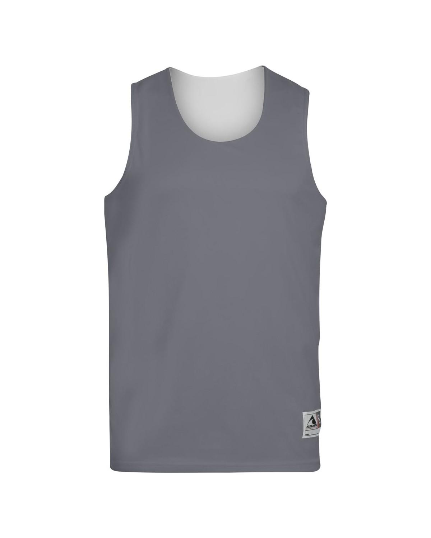 149 Augusta Sportswear GRAPHITE/ WHITE
