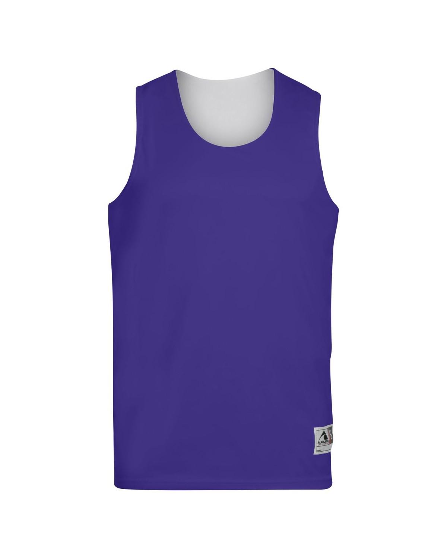 149 Augusta Sportswear PURPLE/ WHITE