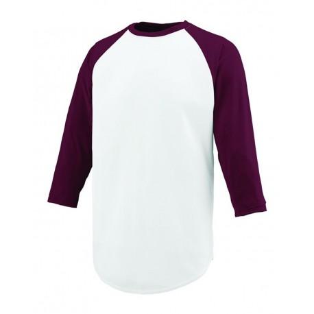 1505 Augusta Sportswear 1505 Nova Jersey WHITE/ MAROON