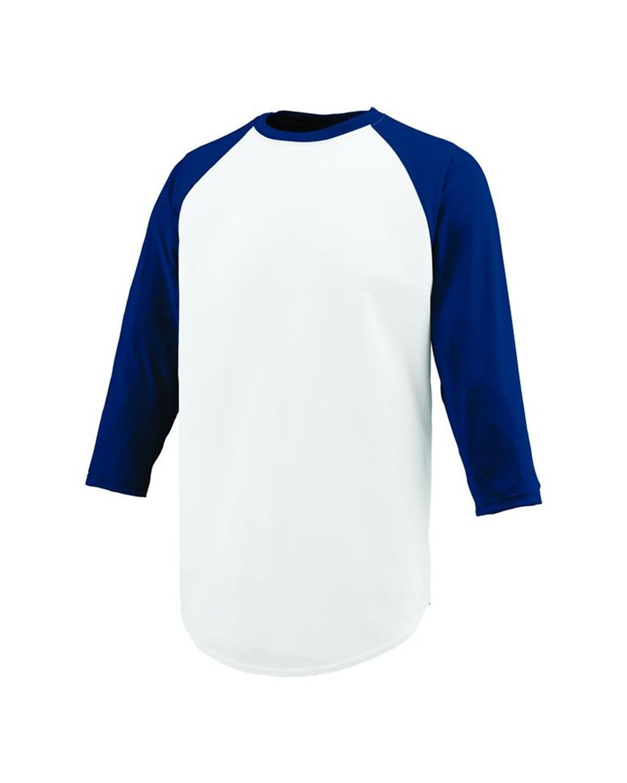 1505 Augusta Sportswear WHITE/ NAVY