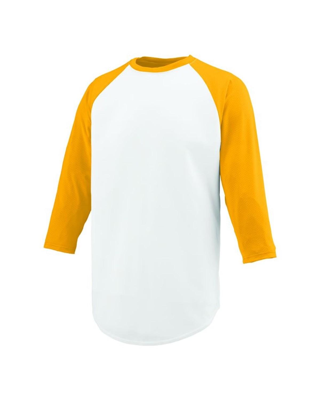 1505 Augusta Sportswear White/ Gold