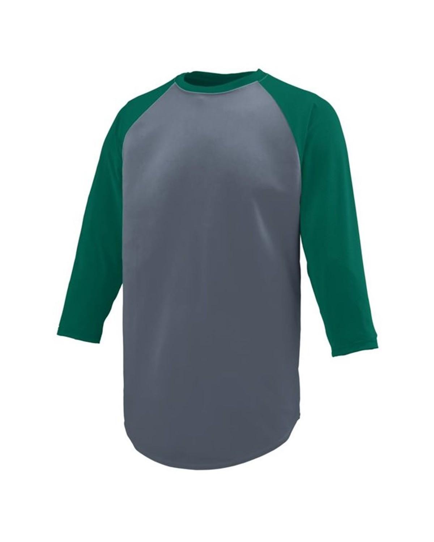 1505 Augusta Sportswear Graphite/ Dark Green