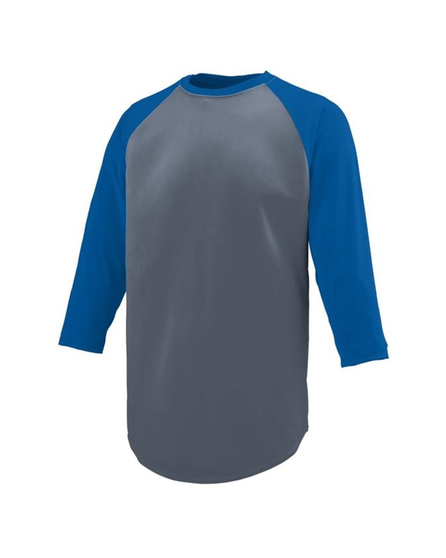 1505 Augusta Sportswear Graphite/ Royal