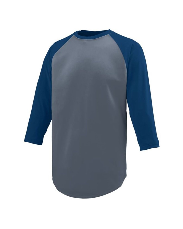 1506 Augusta Sportswear Graphite/ Navy