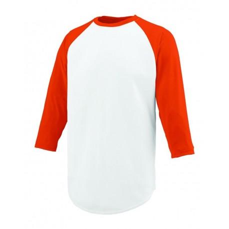 1506 Augusta Sportswear 1506 Youth Nova Jersey White/ Orange