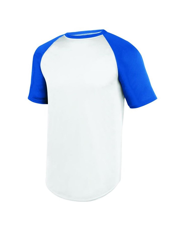 1508 Augusta Sportswear WHITE/ ROYAL