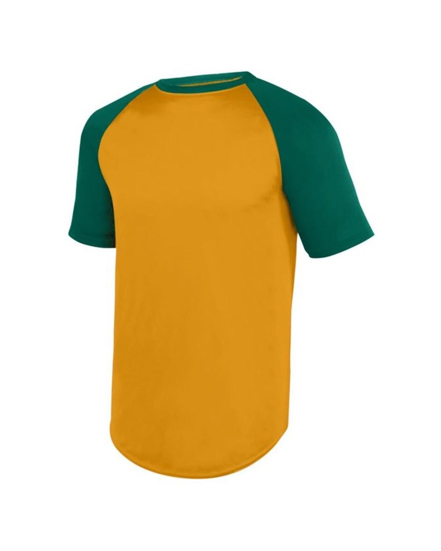 1508 Augusta Sportswear Gold/ Dark Green