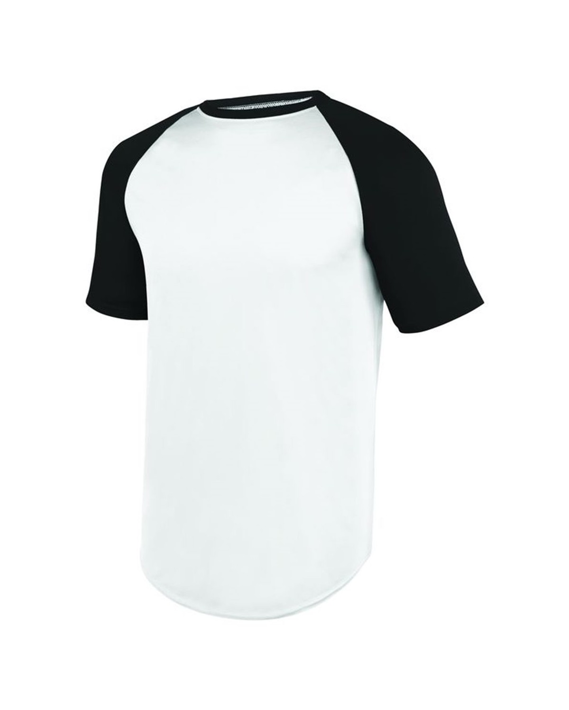 1508 Augusta Sportswear WHITE/ BLACK