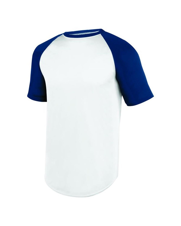 1508 Augusta Sportswear WHITE/ NAVY