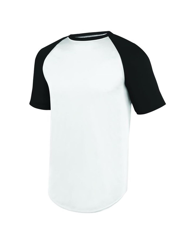 1509 Augusta Sportswear WHITE/ BLACK