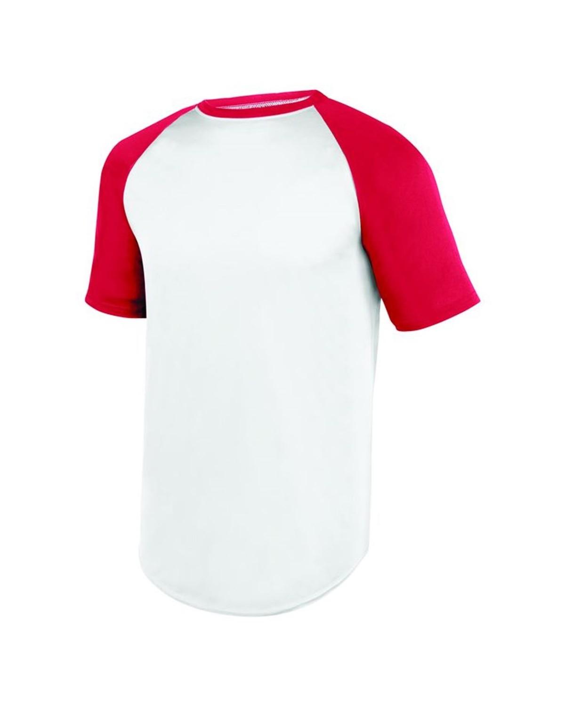 1509 Augusta Sportswear WHITE/ RED