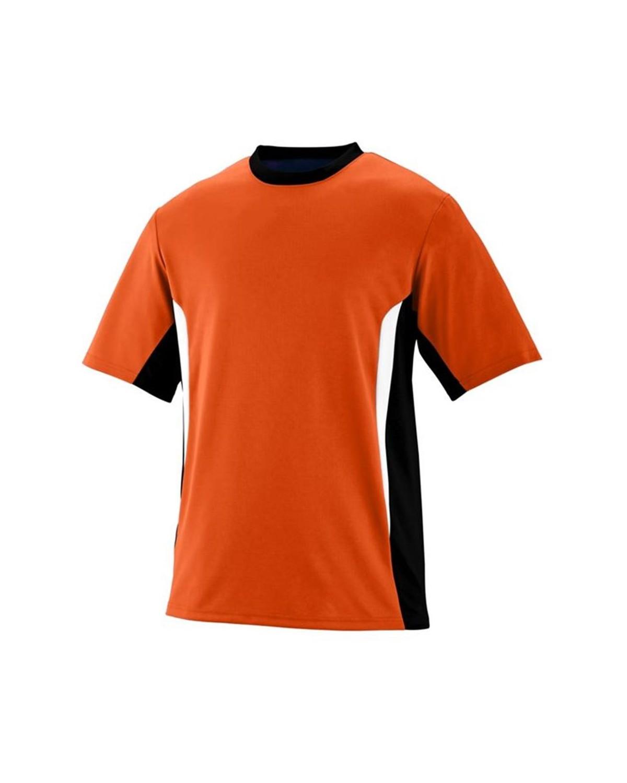 1510 Augusta Sportswear Orange/ Black/ White