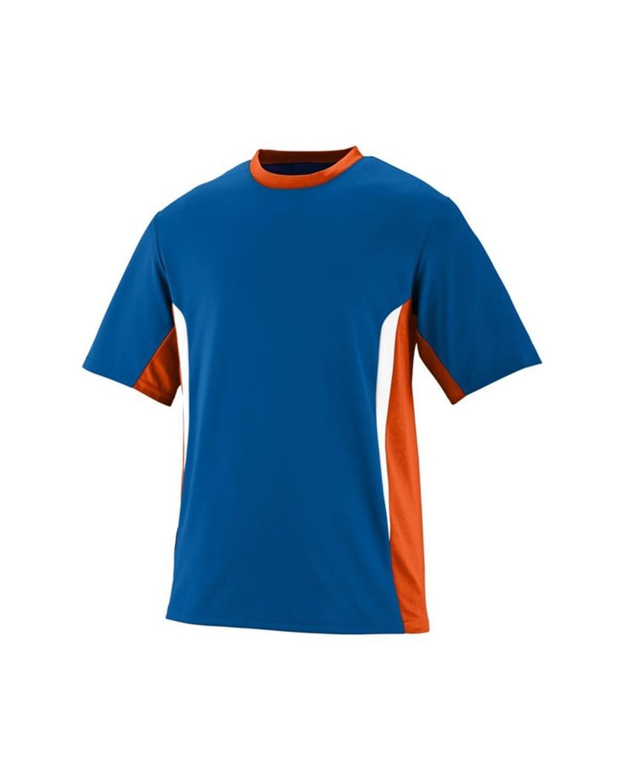 1511 Augusta Sportswear Royal/ Orange/ White