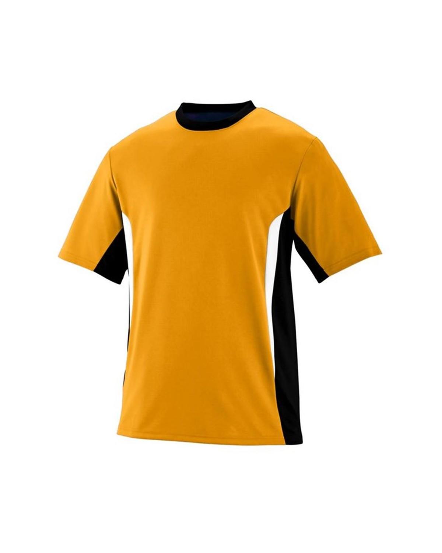 1511 Augusta Sportswear Gold/ Black/ White