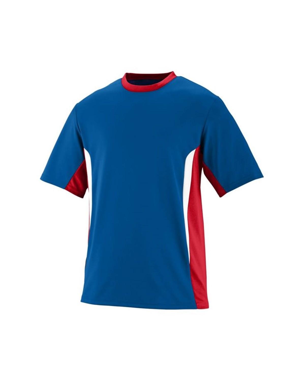 1511 Augusta Sportswear Royal/ Red/ White