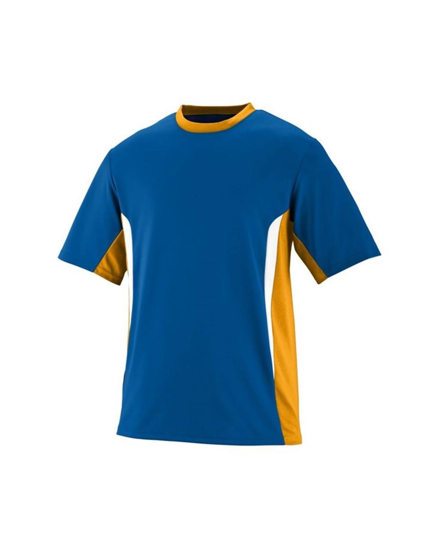 1511 Augusta Sportswear Royal/ Gold/ White