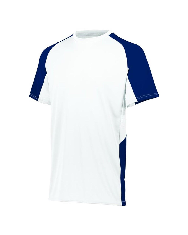 1517 Augusta Sportswear WHITE/ NAVY