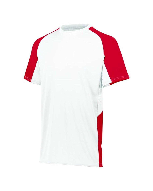1517 Augusta Sportswear WHITE/ RED