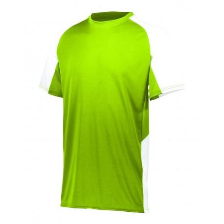 1517 Augusta Sportswear 1517 Cutter Jersey LIME/ WHITE