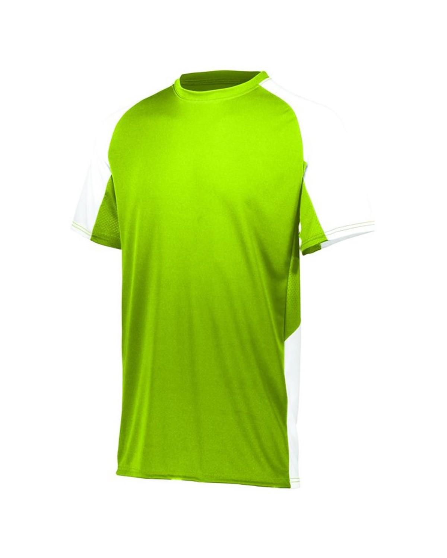 1517 Augusta Sportswear LIME/ WHITE