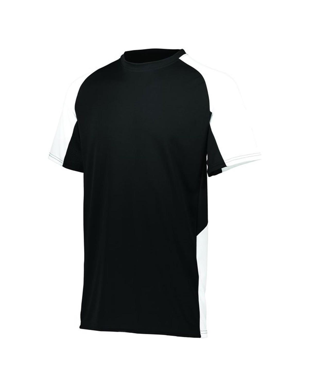 1517 Augusta Sportswear BLACK/ WHITE