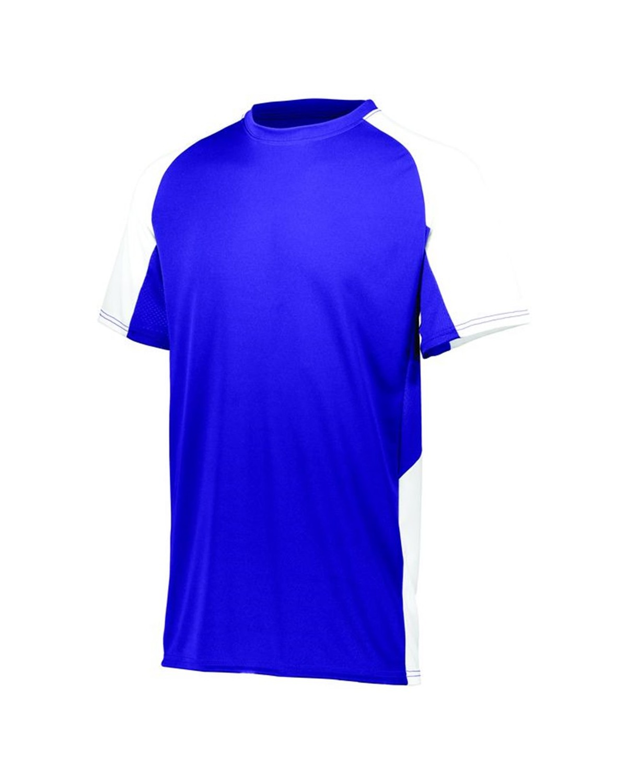 1517 Augusta Sportswear PURPLE/ WHITE