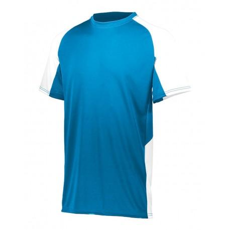 1518 Augusta Sportswear 1518 Youth Cutter Jersey Power Blue/ White
