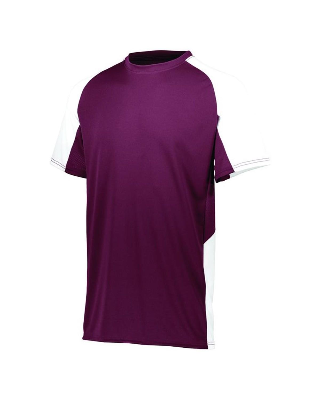 1518 Augusta Sportswear MAROON/ WHITE