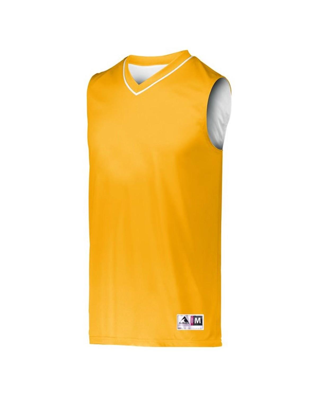 152 Augusta Sportswear GOLD/ WHITE